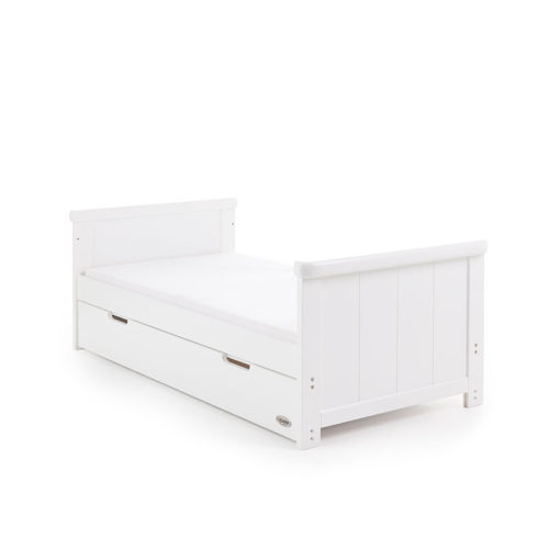 Obaby Belton 2 Piece Nursery Room Set/Cot Top Changer - White1