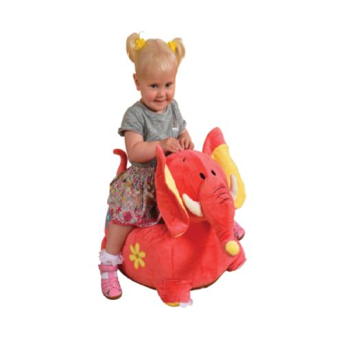 Liberty House Toys - Plush Dragon Sofa Riding Chair Pink