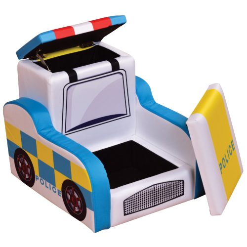 Liberty House Toys Police Sofa with Storage