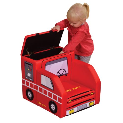 Liberty House Toys - Fire Engine Sofa with Storage1