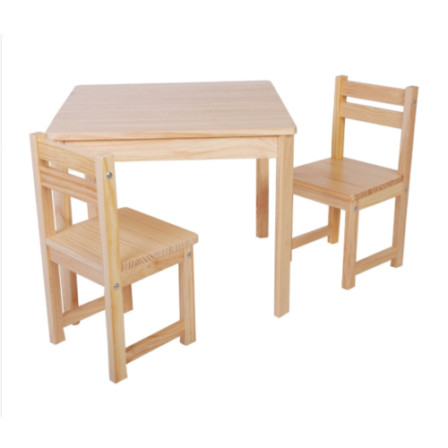Liberty House Toys - Boss Table & Chairs Set Natural1