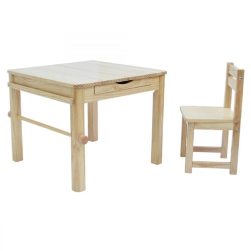 Liberty House Toys - Boss Envy Art Table & Chair Set - Natural