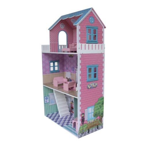 Townhouse-Dollhouse-with-Furniture3