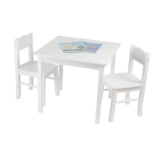 Liberty House Toys White Wooden Table & Chairs