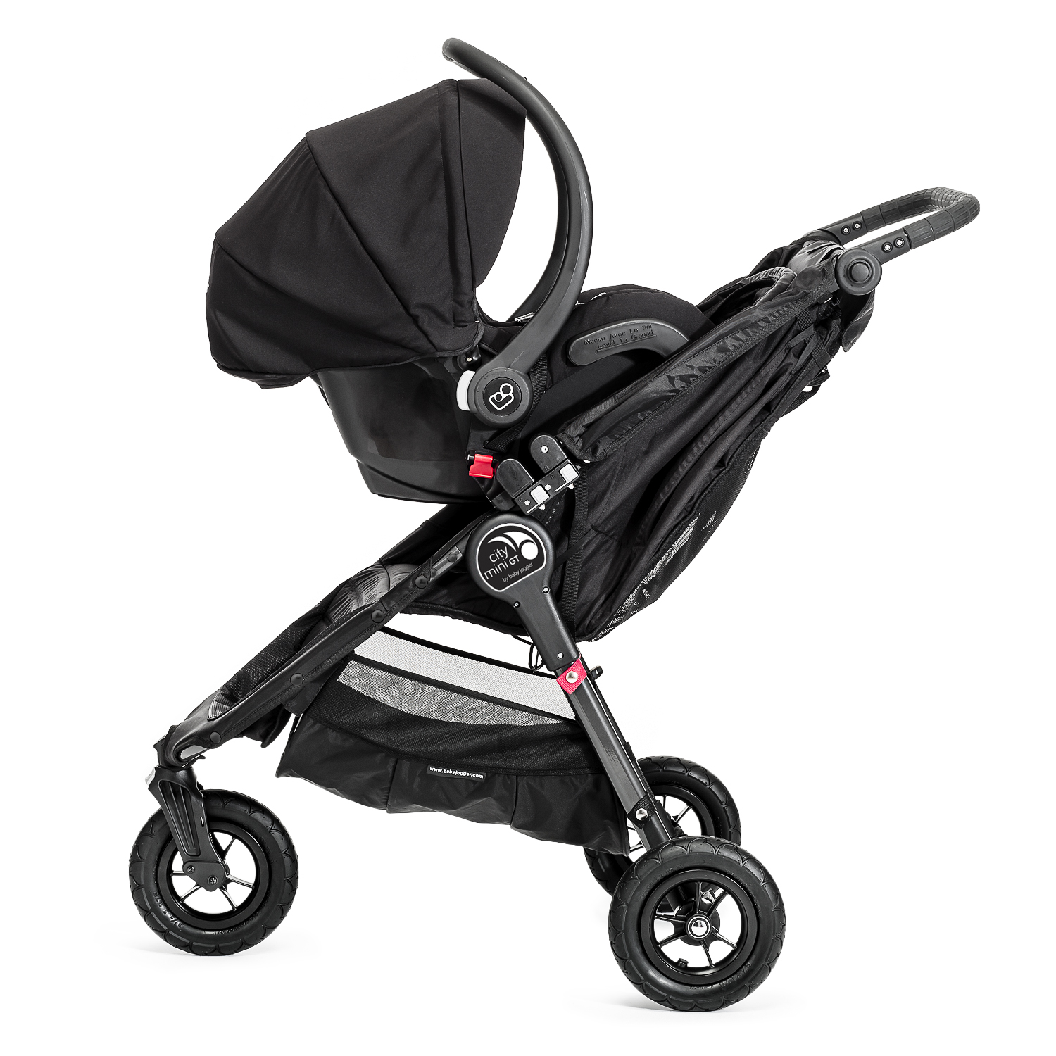 ea7e3c3b4 Baby Jogger City Mini GT Newborn Pram Bundle - Black - Baby and ...