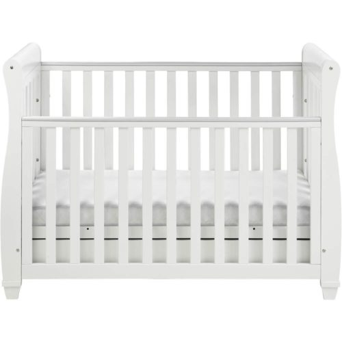 babymore-dropside-cot-bed-eva-in-white-front-on