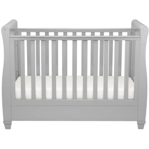 babymore-evan-slgih-cot-bed-in-pebble-grey-dropside