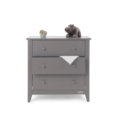 Belton Changing Unit Taupe Grey