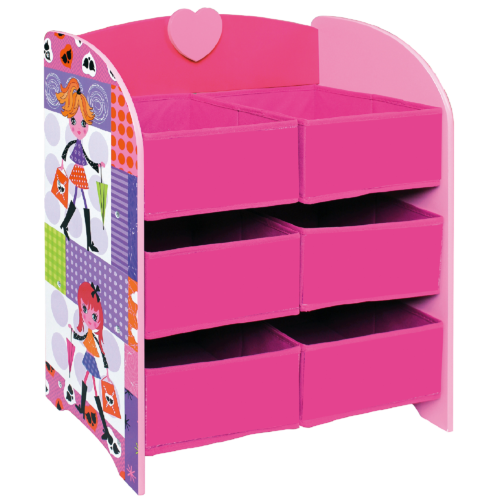 Liberty House Toys Fashion Girl Storage Unit