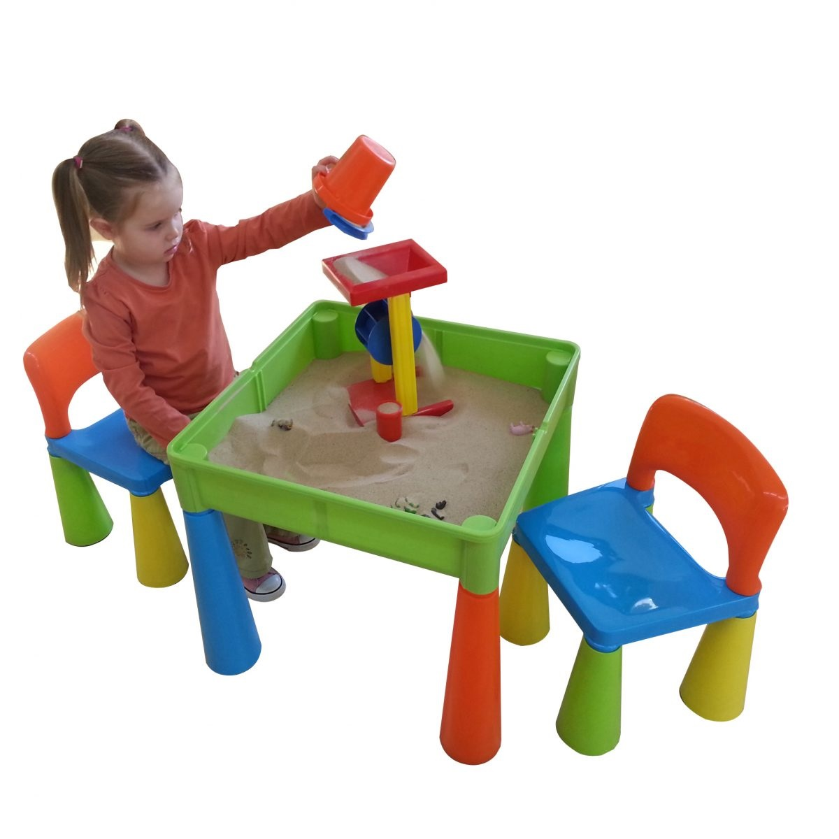2884ae14d7f3 Liberty House Toys - 5 in 1 Multipurpose Activity Table   2 Chairs ...