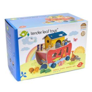 Tender Leaf Toys Noahs Shape Sorter Ark1
