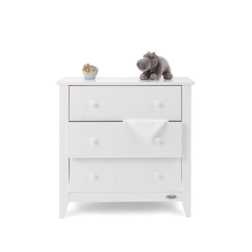 Obaby Belton 2 Piece Nursery Room Set/Cot Top Changer - White9