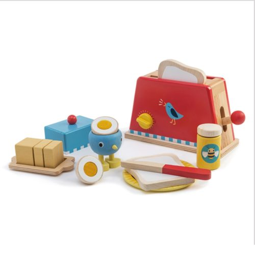 Tender Leaf Toys Toaster and Egg Set