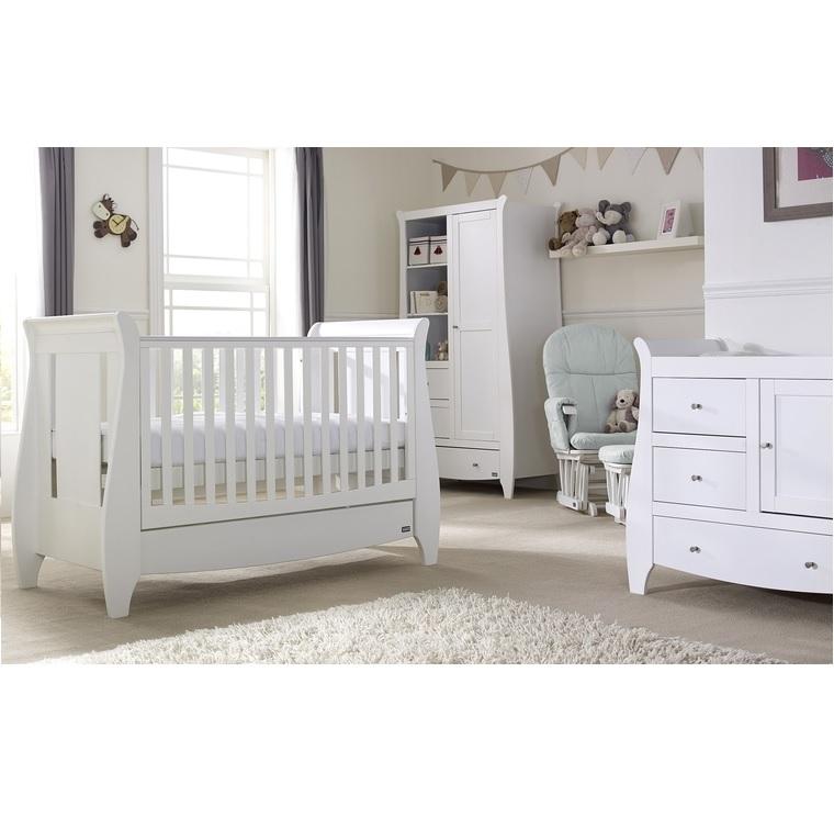 Tutti Bambini Lucas 5 Piece Nursery Room Set White