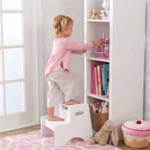 Kidkraft-Two-Step-Stool-White