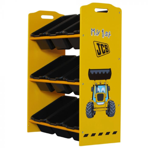 Kidsaw-JCB-9-Bin-Storage