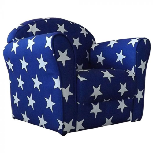 Kidsaw Mini Armchair Blue White Stars