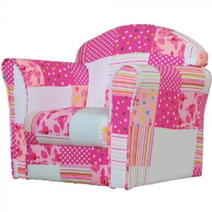 Kidsaw-Mini-Armchair-Pink-Patchwork