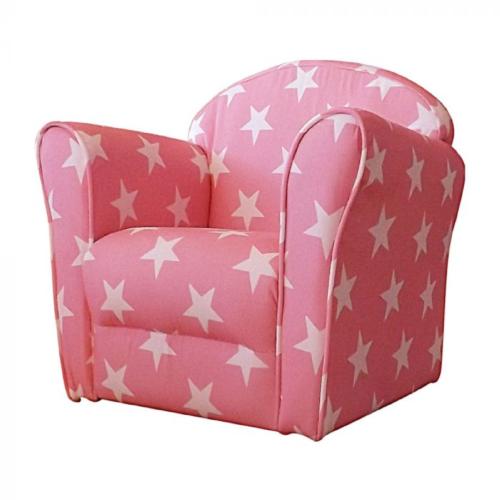 Kidsaw Mini Armchair Pink White Spots