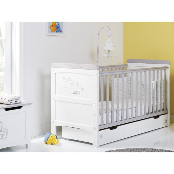 Obaby-Winnie-the-Pooh-Deluxe-Cot-Bed-and-Underdrawer-Dreams-and-Wishes-5