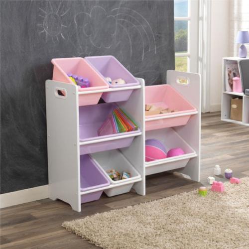 Kidkraft White 7 Bin Toy Storage Unit
