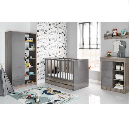 Obaby Madrid 3 Piece Room Set - Eclipse