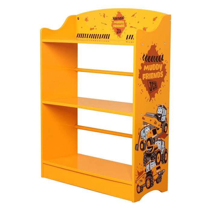 Kidsaw JCB Muddy Friends Bookcase2