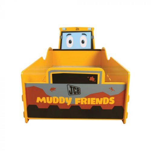 Kidsaw JCB Muddy Friends Junior Toddler Bed1