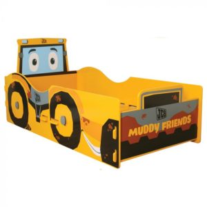Kidsaw JCB Muddy Friends Junior Toddler Bed