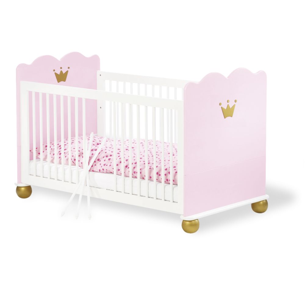 Pinolino Princess Karolin Cot Bed