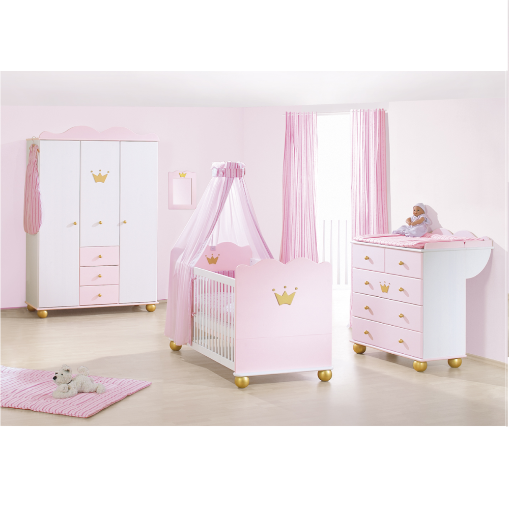Pinolino Princess Karolin 3 Piece Room Set