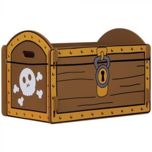 Kidsaw Pirate Treasure Chest1