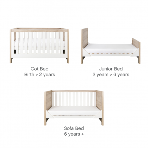 tutti-bambini-modena-2-piece-nursery-room-set-white-and-oak-junior-bed-options