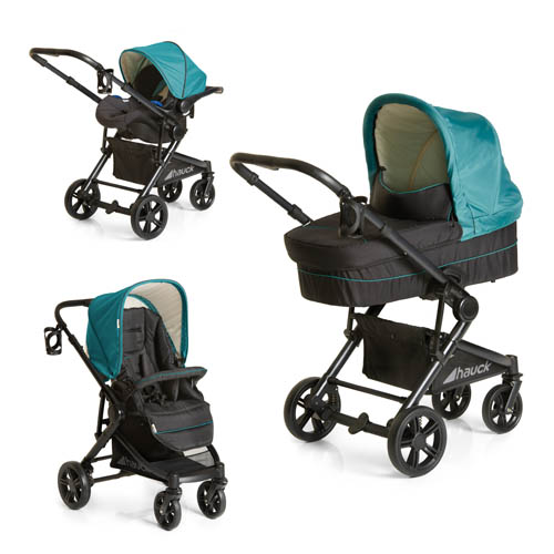 Hauck Atlantic Plus Travel System Everglade