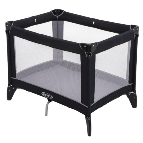 Graco Compact Travel Cot - Black/Grey