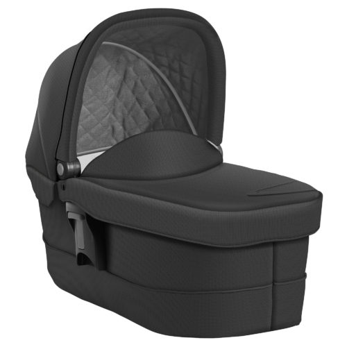 Graco Evo Luxury Carrycot Black/Grey