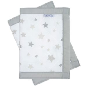 Airwrap-2-Sided-Cot-Protector-Silver-Star