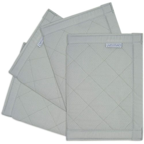 Airwrap-4-Sided-Cot-Protector-Silver
