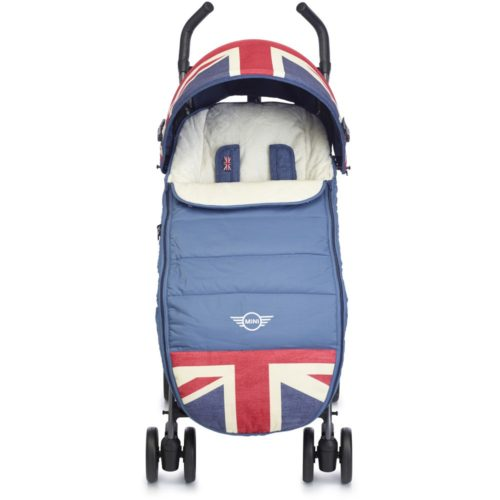 Easywalker-MINI-Footmuff-Union-Jack-Vintage-1