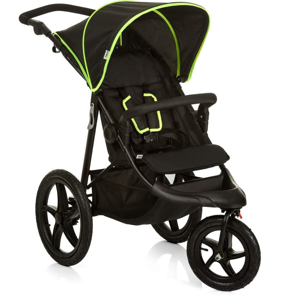 Hauck Runner Black Neon Yellow