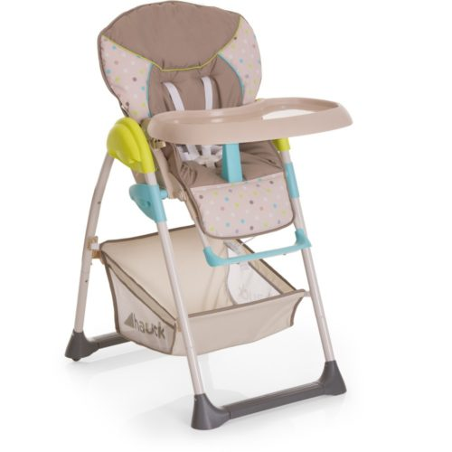 Hauck Sit N Relax Highchair Multi Dots Sand Baby And
