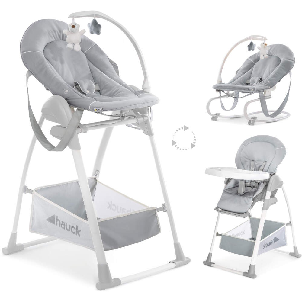 Hauck Stretch Grey Sit N Relax 3 in 1