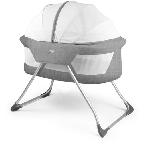 Inovi-Cocoon-Bassinet-Grey