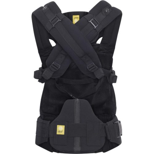 Lillebaby-Complete-Airflow-6-in-1-Baby-Carrier-Black