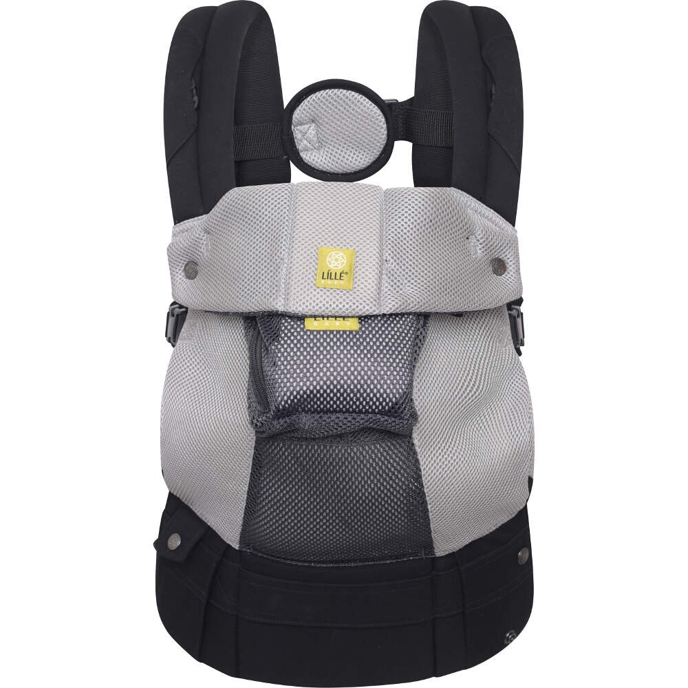 bd85112dc29 Lillebaby Complete Airflow 6-in-1 Baby Carrier - Grey Silver - Baby ...