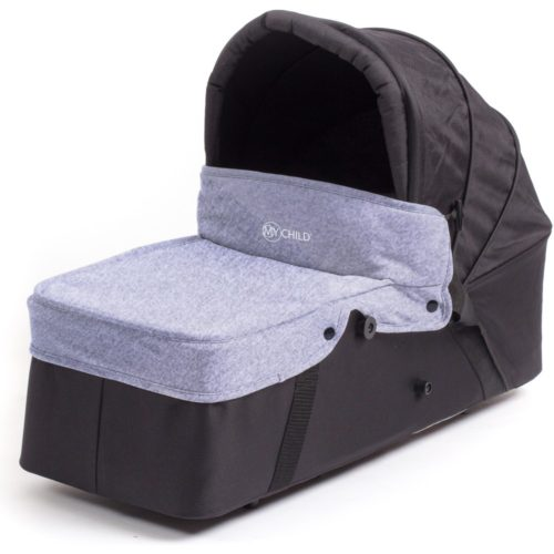 My-Child-Easy-Twin-Main-Carrycot-Grey