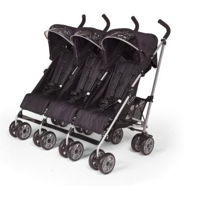 Kids Kargo Citi Elite Black Triple Stroller