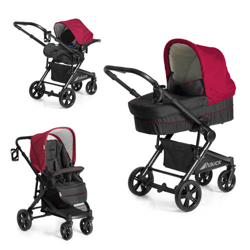 Hauck Atlantic Plus Trio Travel System - Tango