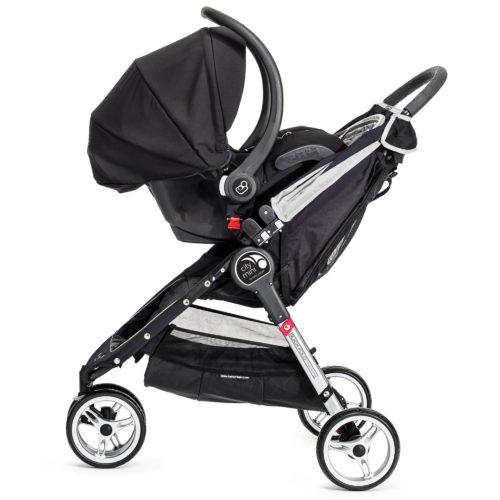 Baby Jogger City Mini Single Stroller Newborn Package Black