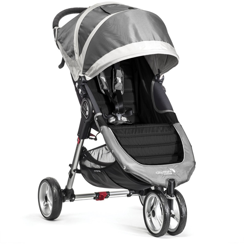 Baby Jogger City Mini Single Travel System Package Steel